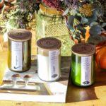 Bougie écologique artisanale upcyclée - Septembre 1