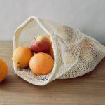 Filet à fruits et légumes réutilisable en coton bio L - Alterosac