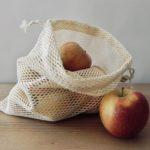 Filet à fruits et légumes réutilisable en coton bio M - Alterosac