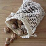 Filet à fruits et légumes réutilisable en coton bio S - Alterosac
