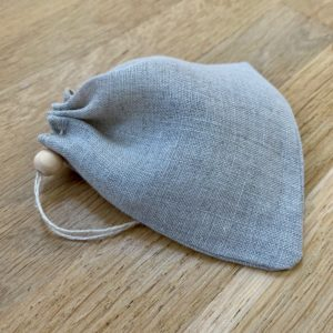 Filtre à thé réutilisable en voile de lin bio – Alterosac