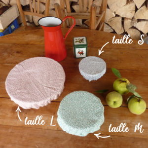 Recouvre-bol coton bio lavable 2 - Alterosac