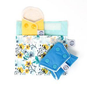 Pochette imperméable serviette hygiénique Anna - Marcia Créations