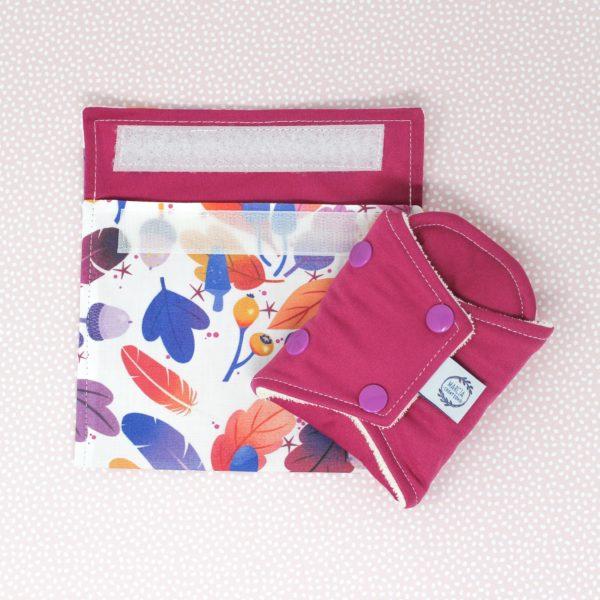 Pochette imperméable serviette hygiénique Constance 1 - Marcia Créations