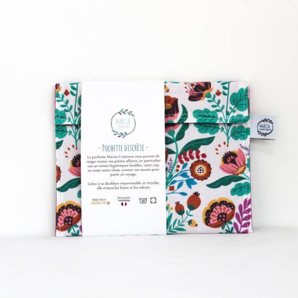 Pochette imperméable serviette hygiénique Nina - Marcia Créations