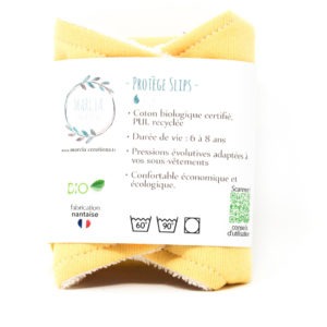 Protège slip lavable en coton biologique 2 - Marcia Créations