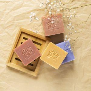 Savon artisanal bio saponifié à froid parfumé 90g 2- Atelier Populaire