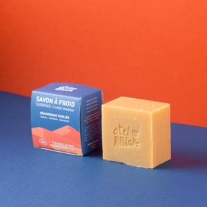 Savon artisanal bio saponifié à froid parfumé 90g Orangeraie oubliée - Atelier Populaire