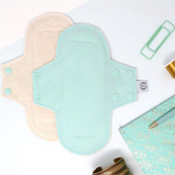 Serviette hygiénique lavable jour bio - Marcia Créations