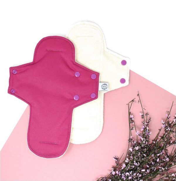 Serviette hygiénique lavable bio nuit bio plus - Marcia Créations
