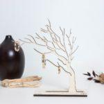 Arbre à bijoux en bois décoratif - Edobois Le Conquérant