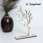 Arbre à bijoux en bois décoratif - Edobois Le Conquérant 2