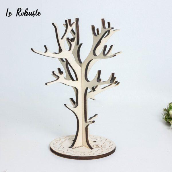Arbre à bijoux en bois décoratif - Edobois Le Robuste