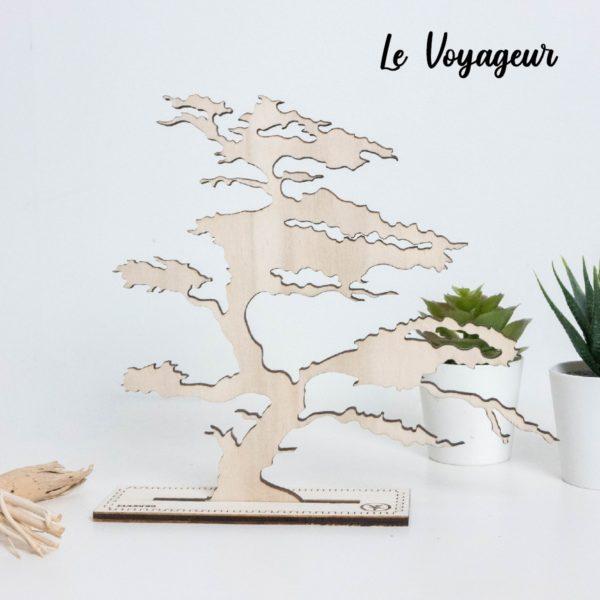 Arbre à bijoux en bois décoratif - Edobois Le Voyageur