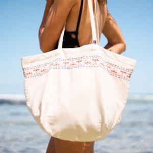 Cabas de plage en coton recyclé - Cottesea