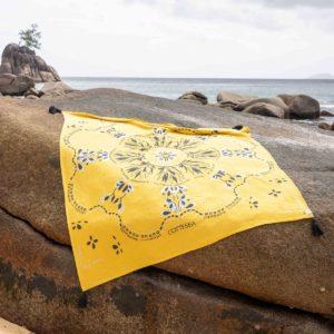 Drap de plage XXL en coton recyclé 3 - Cottesea