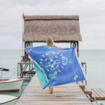 Drap de plage XXL en coton recyclé - Cottesea