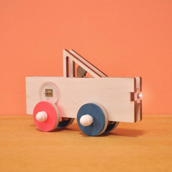 Pick up - Voiture électrique à construire éco-conçue pour enfant Vroom - Kutì Kutì
