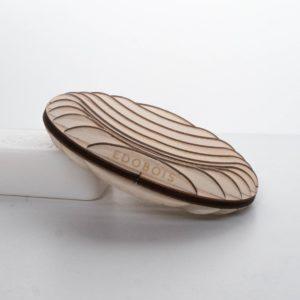 Porte-savon en bois artisanal - Edobois Délicat 1