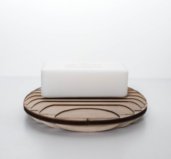 Porte-savon en bois artisanal - Edobois Délicat 3