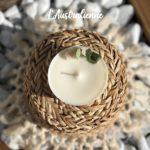Bougie naturelle à la cire végétale - L'atelier du Petit Saule Australienne