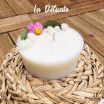 Bougie naturelle à la cire végétale - L'atelier du Petit Saule La Délicate