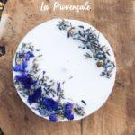 Bougie naturelle à la cire végétale - L'atelier du Petit Saule La Provençale