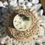 Bougie naturelle à la cire végétale - L'atelier du Petit Saule Mon beau sapin