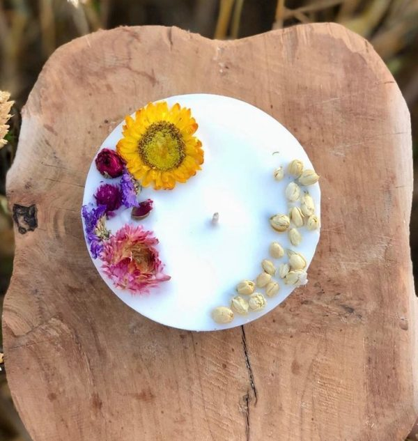 Bougie parfumée naturelle - L'atelier du Petit Saule 2