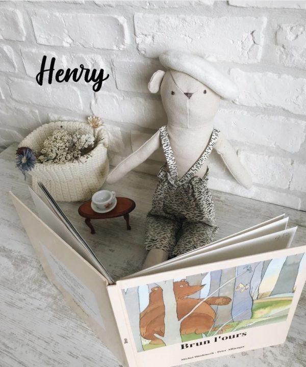 Poupée en tissu fait main Henry -Luna Room