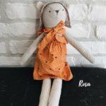 Poupée en tissu fait main Rosa - Luna Room